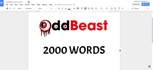 I will write a 2000 word blog article