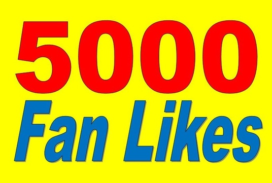 I will give you 5000+ Real Active Nondrop High Quality facebook page likes
