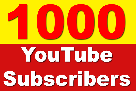I will Add 1000 YouTube Subscribers Non Drop, Safe & Fast