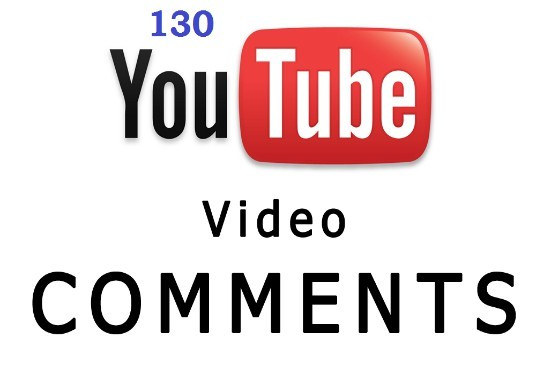I will Send Your Videos 130 YouTube Custom Comments Only