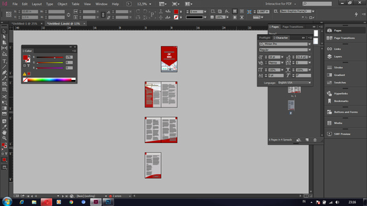 I will Design Professional Layout In Indesign