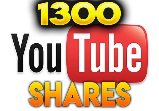 I will make 1300 YouTube Shares