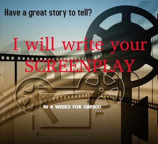 I will write a professional screenplay for your story