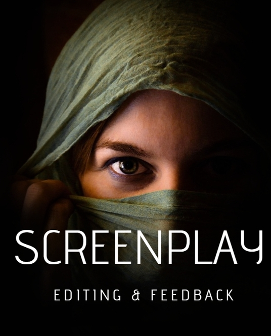 I will edit your screenplay and give you professional feedback