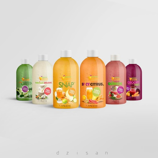 I will Design An Outstanding Product Label And Packaging Design