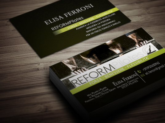 I will Design TWO Business Cards