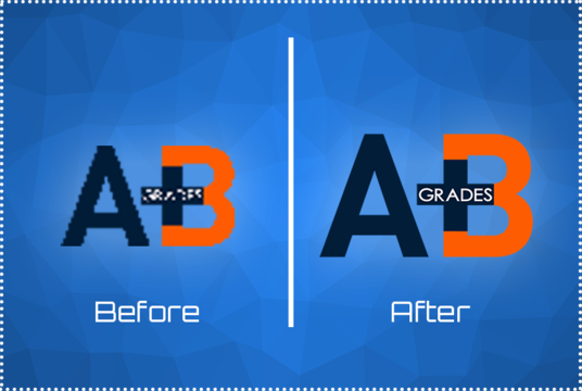 redraw logos and graphics and convert to vector