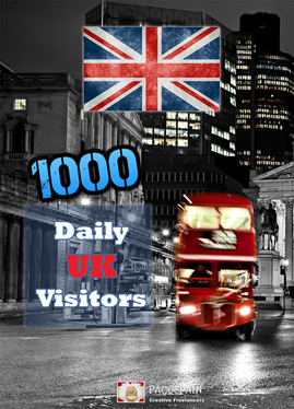 send 1000 UK Targeted Visitors for 30 Days - LOW BOUNCE RATE