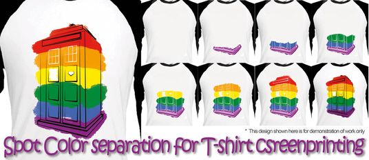 I will prepare your photo or vector graphic for screenprinting