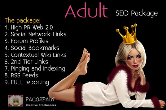 do ADULT Ranking Package - Top Google Results