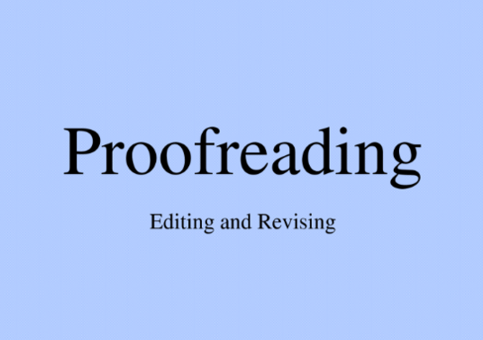 I will Proofread And Edit any document