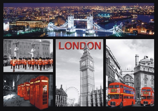 I will send you a postcard from London to your chosen address. With a handwritten message of your