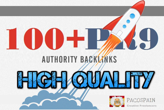 I will create 100 high PR9-7 backlinks