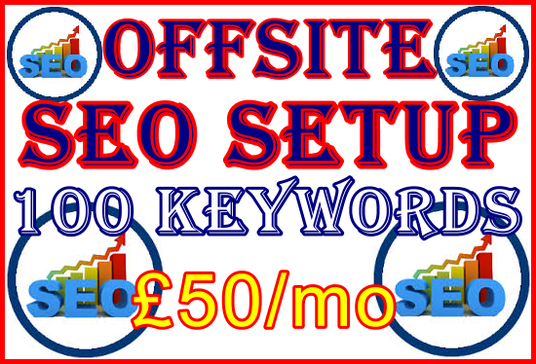 I will Target 100 Keywords with Optimum Offsite SEO Importance