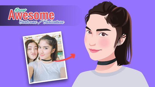 I will Draw your photo into AWESOME cartoon