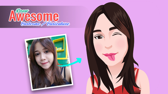 Draw your photo into AWESOME cartoon