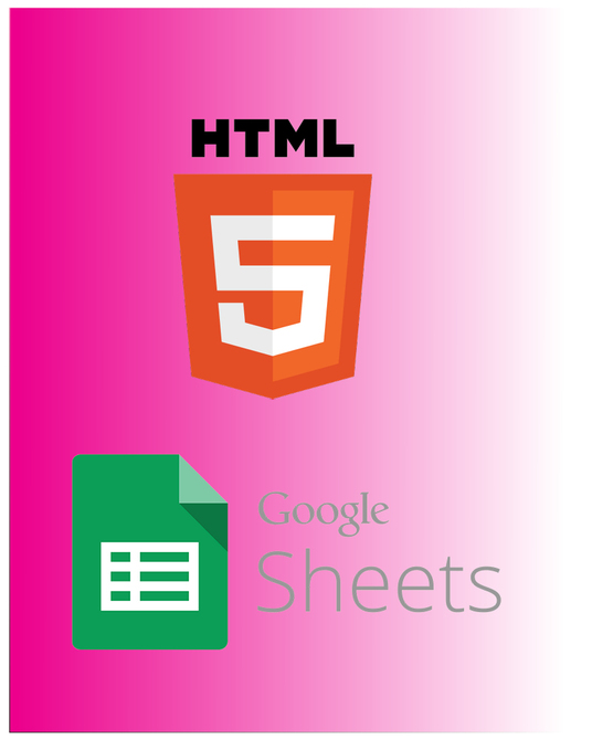 I will submit an HTML form to Google Sheets without Google Forms