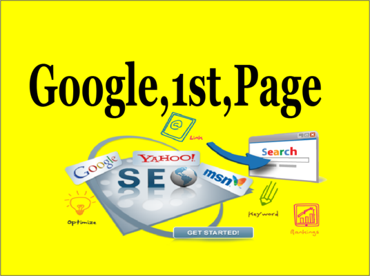 I will Rank You In Google 1st Page