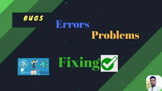 I will fix error, edit theme or design WordPress