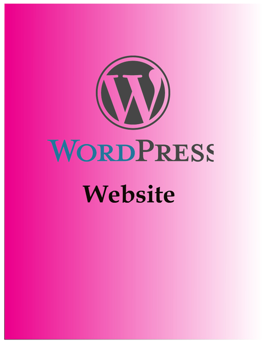 I will make a Professional Wordpress Website