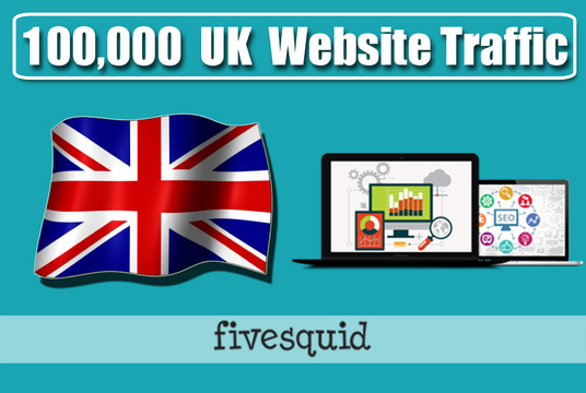 I will Give you 100,000 UK TARGETED traffic to your website
