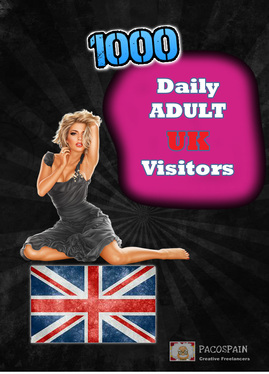 send 1000 UK Adult keyword Targeted Visitors for 30 Days - Low bounce rate