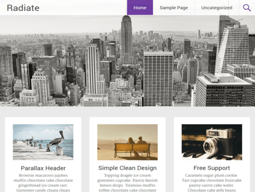 design Professional One Page Website