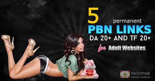 do 5 permanent PBN links for your adult site