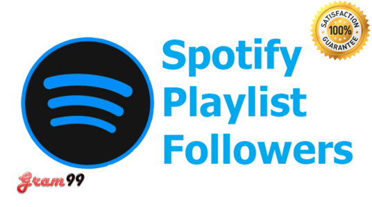 Give you 100+ Spotify Followers or 100+ Spotify Playlist Followers Real Active