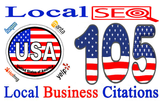 do 100 live USA local citations