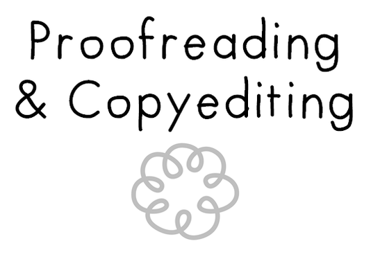 proofread/copyedit up to 2,000 words of your work