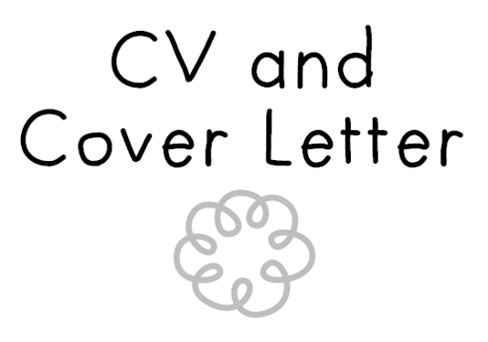 create a fab CV and cover letter