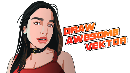 I will draw your portrait into vector potrait