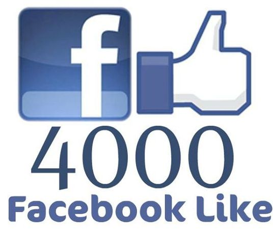 I will give 4000+ real Facebook Fan page likes, instant and non-drop