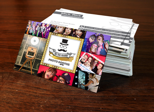 print 500 x Business Cards with FREE UK Delivery by a Pro Design Company