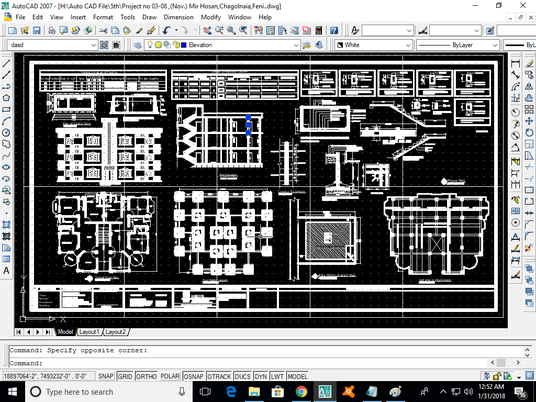 I will convert pdf file or sketch to autocad drawing