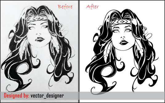I will do Vector Tracing of Your Logo and design your logo
