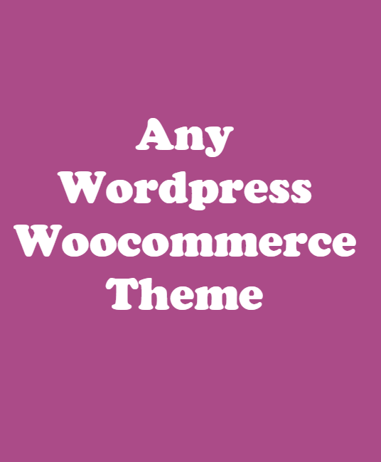 I will Install Any Wordpress Woocommerce Themes