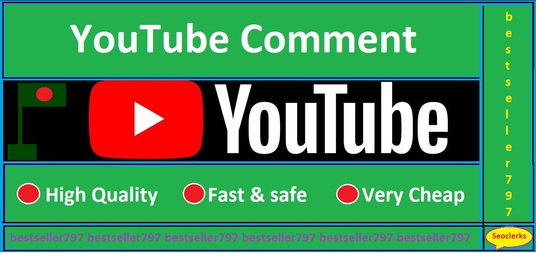 I will give you 70 custom comment of your choice +30 likes  on any video . You Tell me what to wr