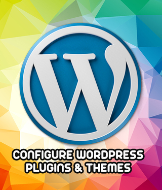 CONFIGURE your WORDPRESS plugins & themes