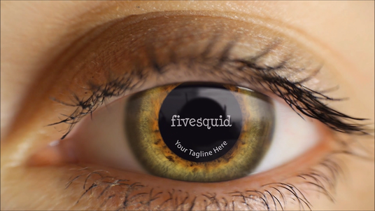 Create 3 Deep Realistic Eye Animation Intro with your Logo