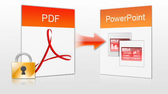 I will Convert Pdf To PowerPoint