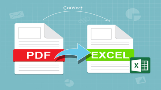 I will Convert PDF Files To Microsoft Excel Documents