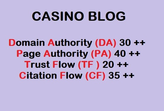 I will Guest Post on Casino Related Blogs