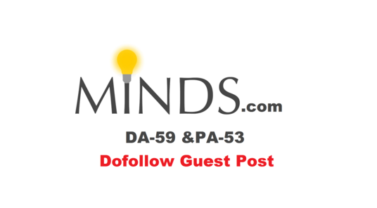 I will Publish Guest Post On Minds.com