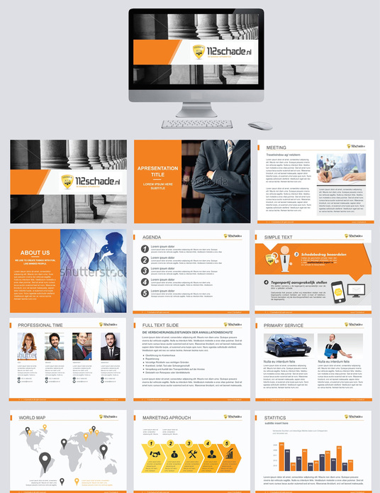 I will create attractive PowerPoint or PDF presentation