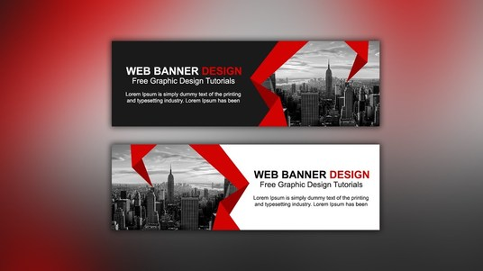 I will Design a Web Banner, Header or Ad Professionally