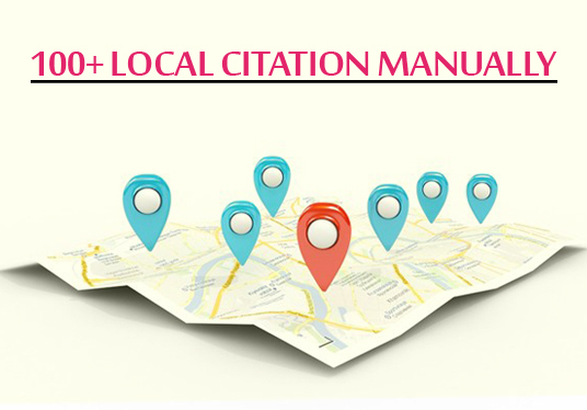 I will Build Manually 100+ Local Citations