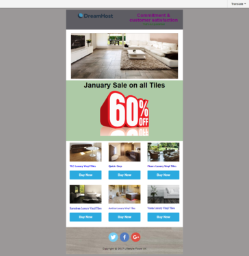design editable and responsive email template