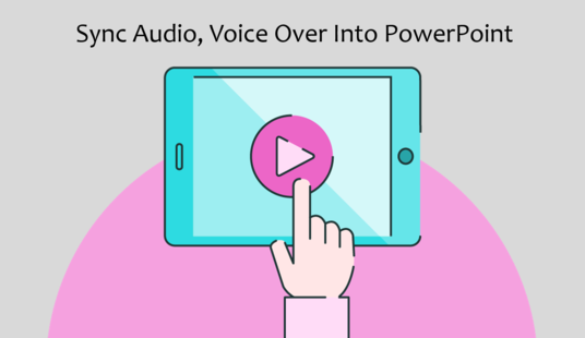 I will Sync Audio, Voice Over Into PowerPoint Presentation